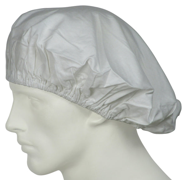 Bouffant Surgical Hats Pure White