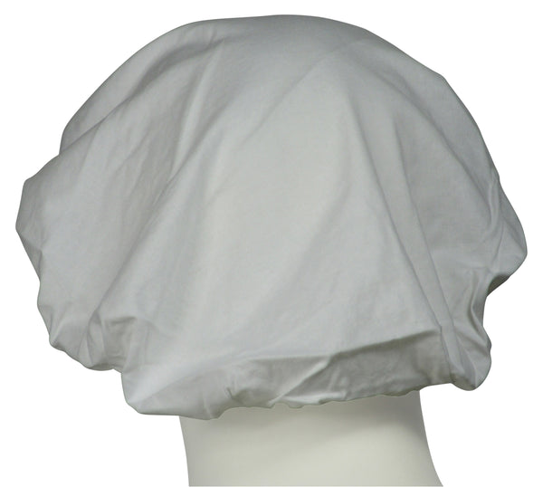 Bouffant Surgical Hat Pure White