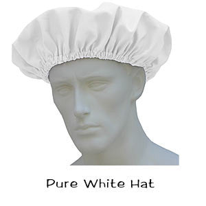 Bouffant Surgical Caps Pure White