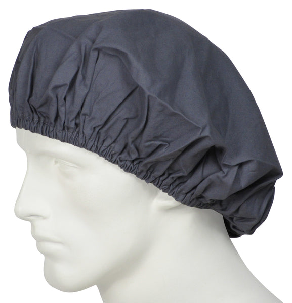 Bouffant Caps Coal Grey