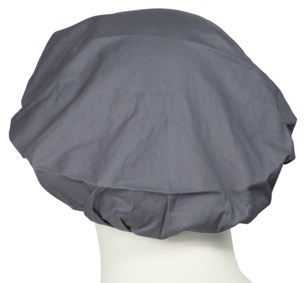 Bouffant Hat Coal Grey