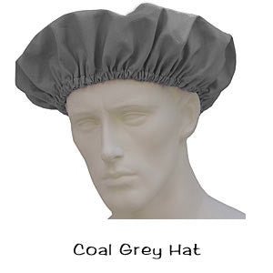 Bouffant Hats Coal Grey