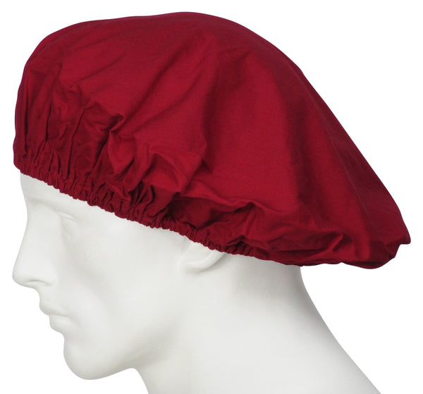Bouffant Surgical Hat Cherry Red