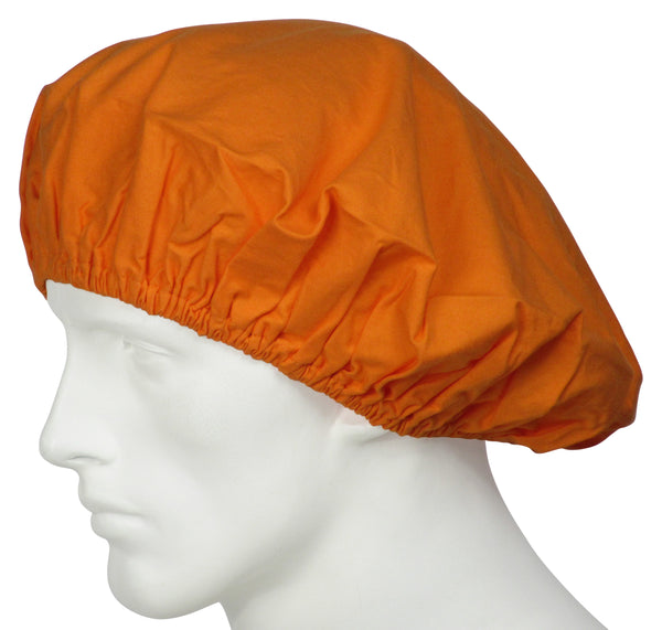 Bouffant Scrub Caps Sunrise Orange