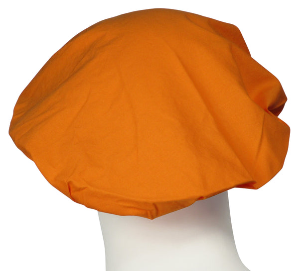 Bouffant Scrub Hats Sunrise Orange