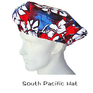Bouffant Surgical Hat South Pacific