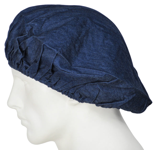 Bouffant Scrub Caps Denim