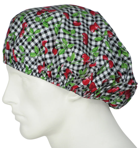 Bouffant Surgical Hats Table Cherries