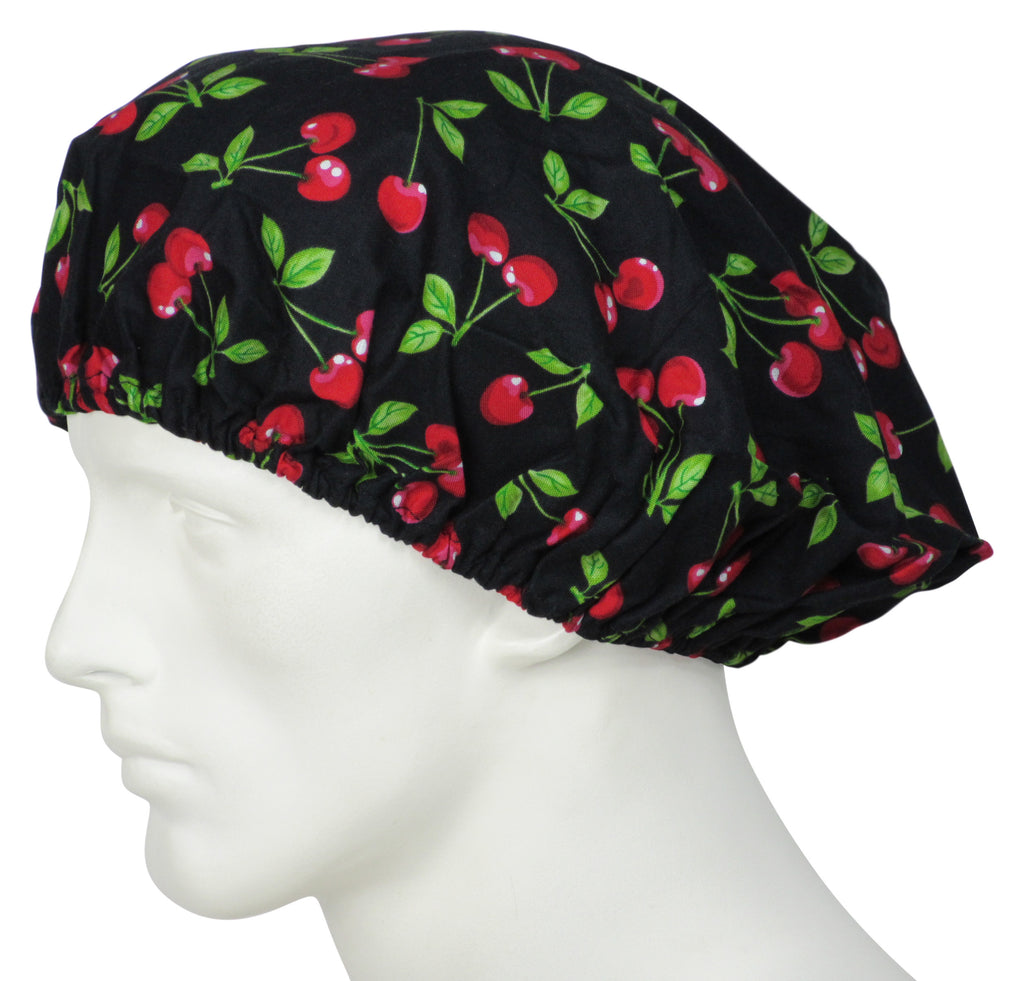 Bouffant Surgical Hats Too Cherries