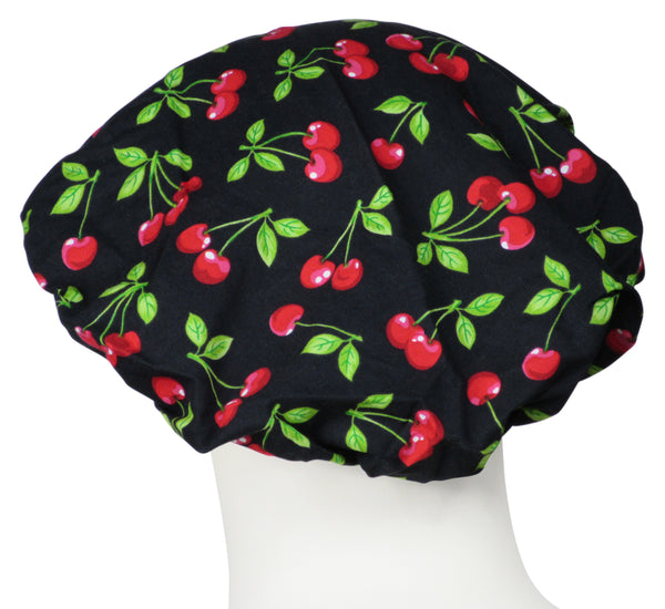 Bouffant Surgical Caps Too Cherries