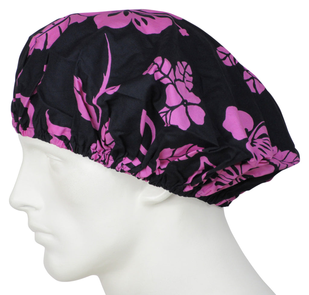Bouffant Surgical Hat Icon Flowers