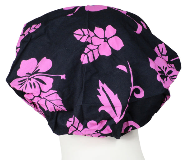 Bouffant Surgical Cap Icon Flowers