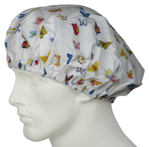 Bouffant Surgical Hat Springtime Butterflys