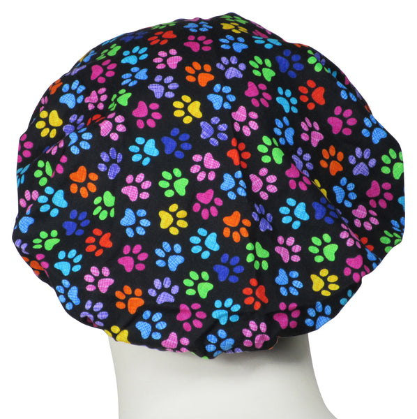 Bouffant Surgical Hats C Puppy Paws
