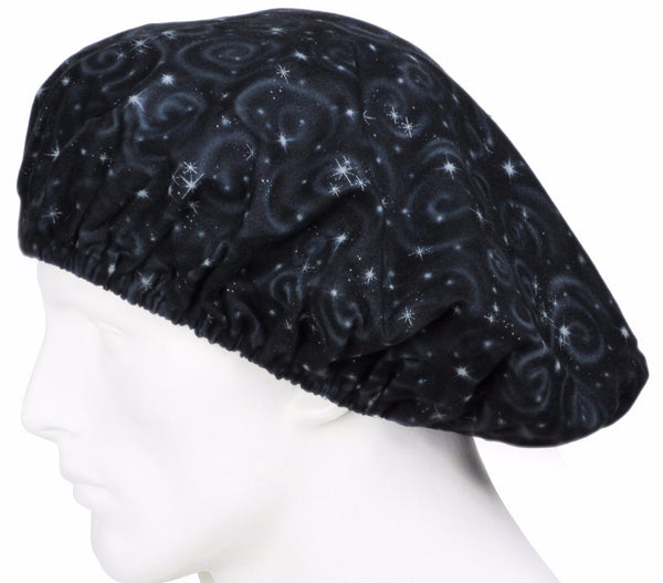 Bouffant Scrub Hats Milky Way