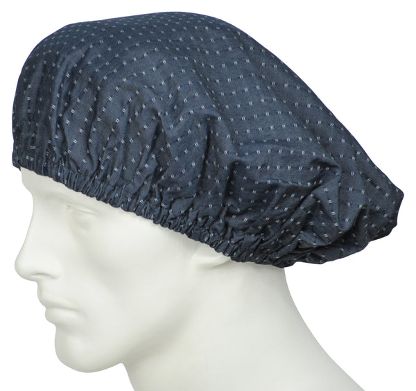 Bouffant Scrub Hats Fina Chambray