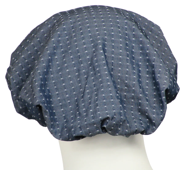 Bouffant Scrubs Hat Fina Chambray