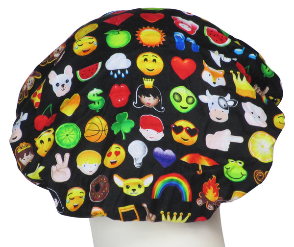 Bouffant Surgical Caps Emojis