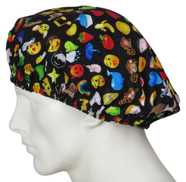 Bouffant Surgical Hats Emojis