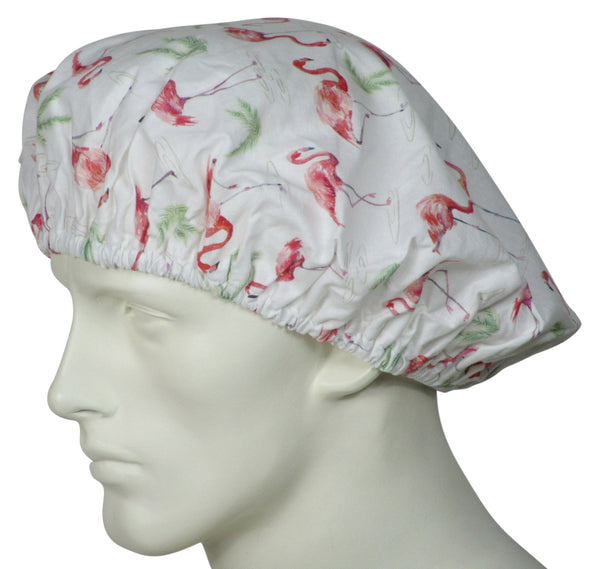 Bouffant Surgical Hats Flamingos