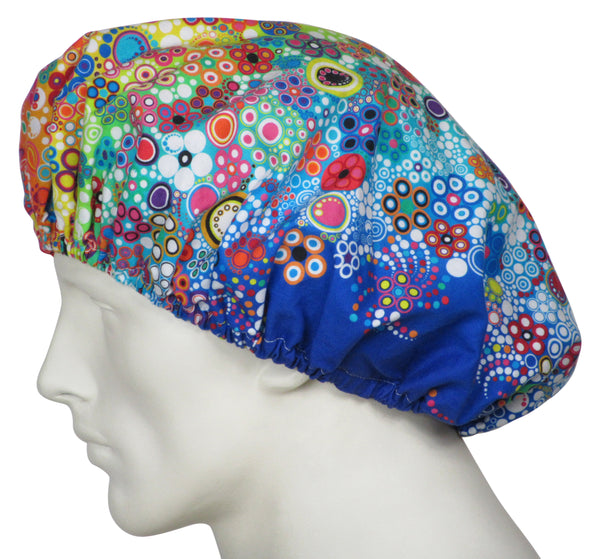 Bouffant Surgical Hats Rainbow Sun