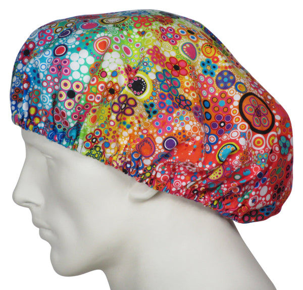 Bouffant Surgeon Hats Rainbow Sun