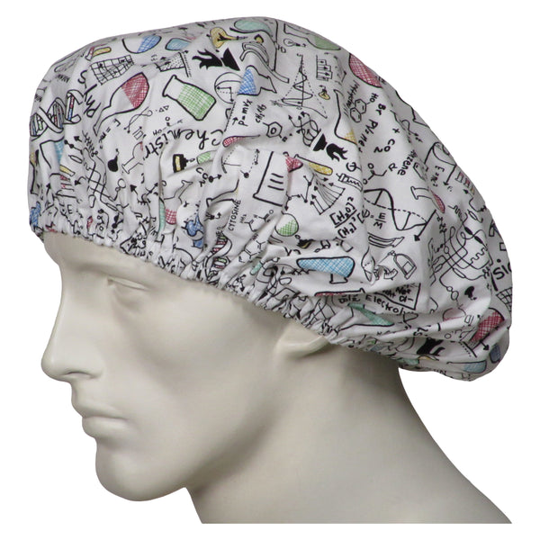 Bouffant Scrub Hats Science 101