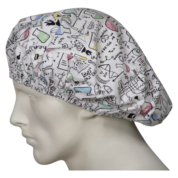 Bouffant Scrub Caps Science 101