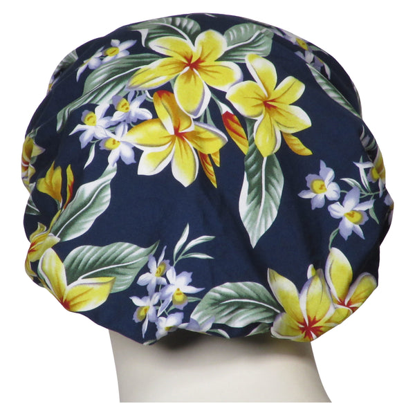 Bouffant Surgical Island Flowers Hats