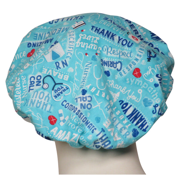 Bouffant Surgical Scrub Hats Medical Heroes