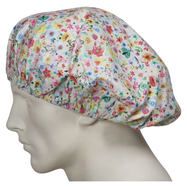 Bouffant Surgical Hats Floral Days