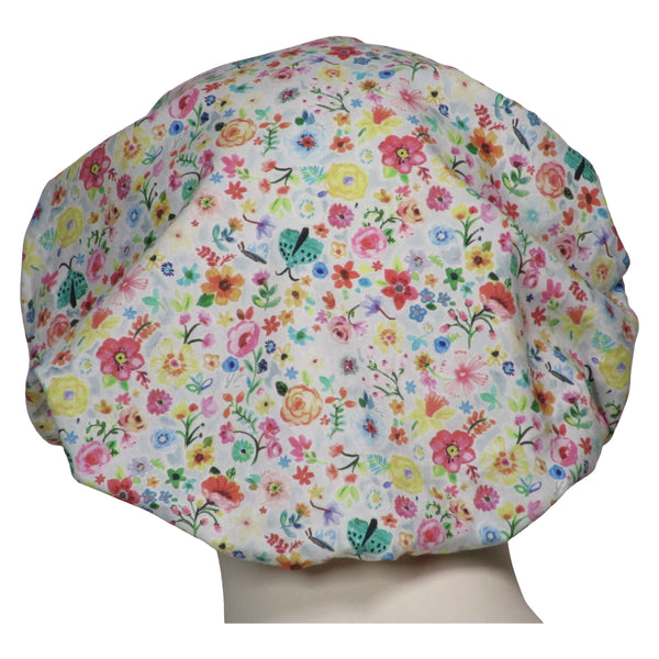 Bouffant Surgical Hat Floral Days