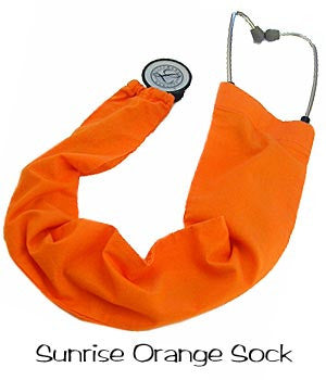 Stethoscope Cover Sunrise Orange
