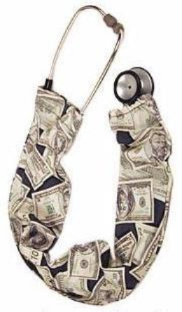 Stethoscope Cover Money