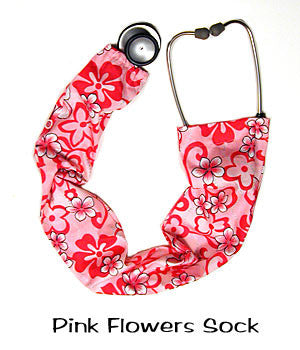 Stethoscope Cover Pink Flowers