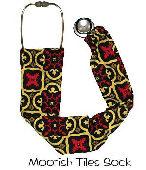 Stethoscopes Covers Moorish Tiles