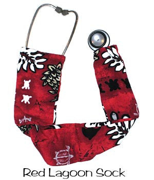 Stethoscopes Cover Red Lagoon