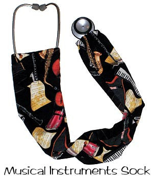 Stethoscope Covers Socks Musical Instruments