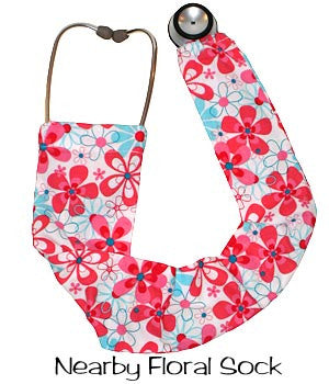Stethoscope Covers Nearby Floral