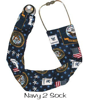 Stethoscope Covers Navy 2