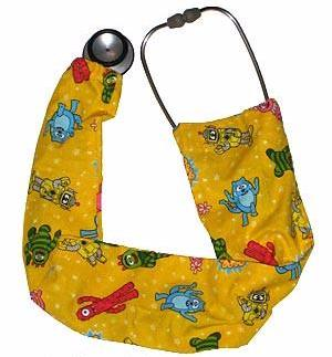 Stethoscope Cover Sock Yo Gabba Yellow