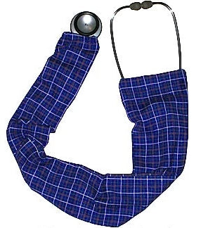 Stethoscope Covers Purple Plaid