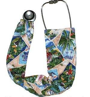 Stethoscope Covers Tropical Vacation