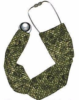 Stethoscope Covers Military Boot Prints