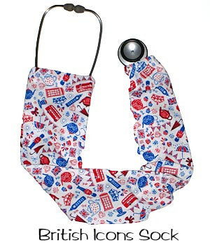 Stethoscope Covers British Icons