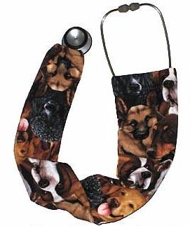 Stethoscope Cover Sock Dog Breeds