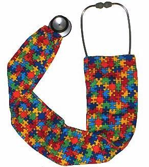 Stethoscope Covers Fighting Autism