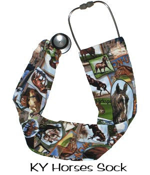 Stethoscope Covers Kentucky Horse