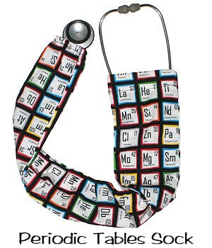 Stethoscope Covers Periodic Tables