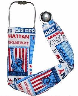 Stethoscope Socks Big Apple NYC
